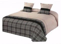 Narzuta na łóżko 220x240 + 2 poszewki 40x40 wz. Wiktoria 21