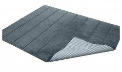 Dywanik łazienkowy prążki - antypoślizgowy 50x70 wz. P13 szary
