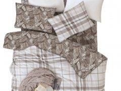 Pościel bawełniana DARYMEX kolekcja Exclusive Cottonlove 160x200 lub 140x200 + 2x70x80 wz. MISTRAL KAHVE