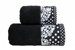 Ręcznik MELISSA 70x140 kolor czarny