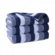 Ręcznik frotte PASITO 70x140 kolor granatowy