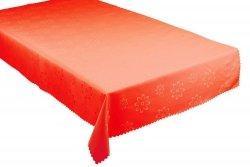 Obrus plamoodporny Jedeka 120x200 prostokąt Kolor: Ceglasty wz. 020