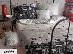 Poszewki na poduszki 40x40 satyna ANDROPOL wz. 18111