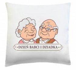 Poduszka na Dzień Babci i Dziadka 40x40 wz. 02