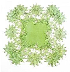 Obrus 30x30 kwadrat wz. 606 Kolor: Zielony