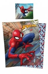 Pościel licencyjna 100% bawełna 160x200 lub 140x200 Spider-Man wz. SM22