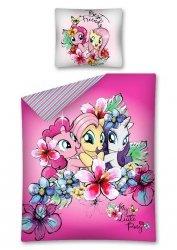 Pościel licencyjna Disney 100% bawełna 160x200 lub 140x200 Kucyki Pony - wz. MLP 27 DC