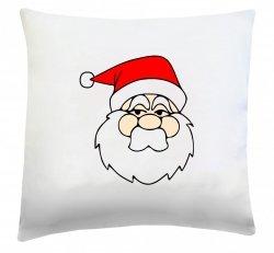 Poduszka świąteczna 40x40 wz. Święty Mikołaj 4