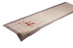 Świąteczny obrus haftowany NIKO rozmiar 40x140 wzór 2491