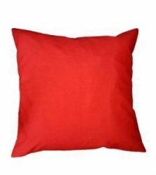 Poszewka na poduszkę RUBIN wz. czerwony , rozmiar 70x80 100% bawełna