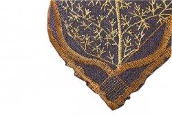 Obrus Haftowany Bruna 1356 130x160 cm kolor: Brazowy