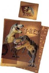 Pościel licencyjna  100% bawełna 160x200 lub 140x200 - T-rex 8014