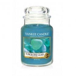 Świeca Yankee Candle Turquoise Glass - duży słoik