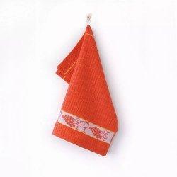Ręcznik Mięta 50x50cm wz. winogrono pomarańczowy