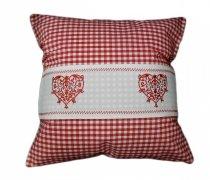 Poszewka na poduszkę 40x40 - Walentynkowe wzory 100% poliester wz. 9247A