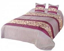 Narzuta na łóżko 220x220 + 2 poszewki 40x40 wz. Wiktoria 16
