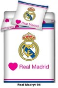 Pościel sportowa licencyjna 100% bawełna 160x200 - Real Madryt 04