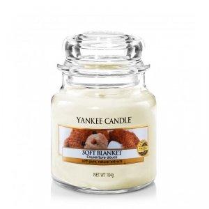 Świeca Yankee Candle Soft Blanket - mały słoik