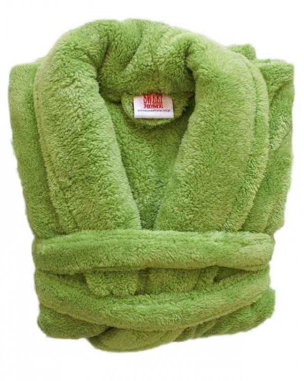 Szlafrok Wellsoft rozmiar XL kolor - zielony