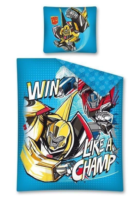 Pościel licencyjna Disney 100% bawełna 160x200 lub 140x200 - Transformers - TRF 07 DC