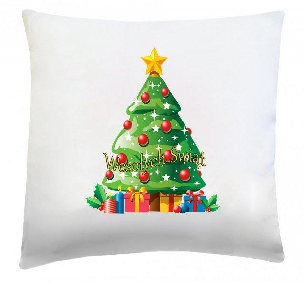 Poduszka świąteczna 40x40 wz. Choinka