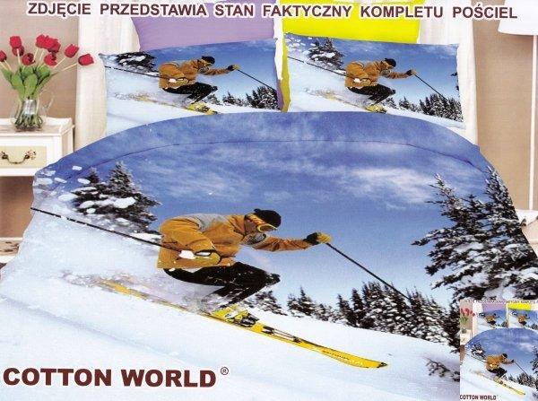 Pościel Premium Mikrowłókno 3D roz. 160x200 lub 140x200 wz.FPP33