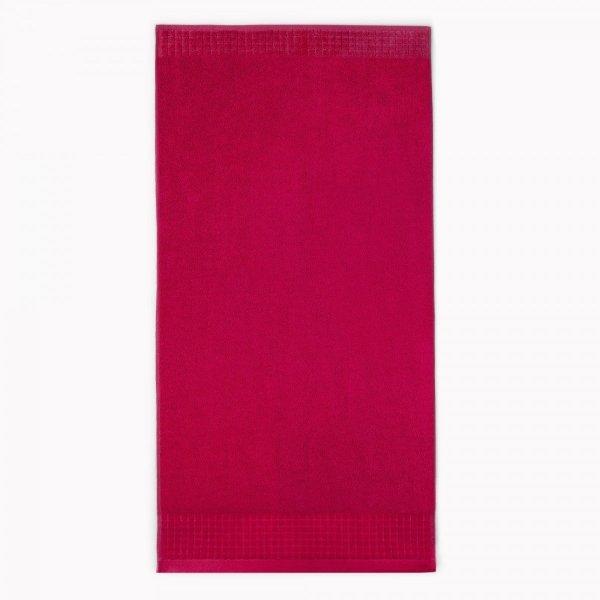 Ręcznik PAULO 50x90 kolor czerwony