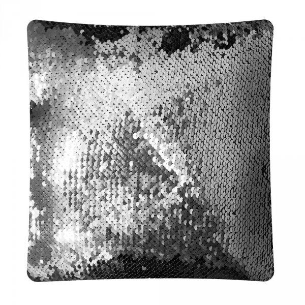 Poduszka ozdobna w cekiny Moose 30x30 - wz. C49K