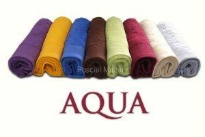 Ręcznik AQUA rozmiar 50x100 czerwony