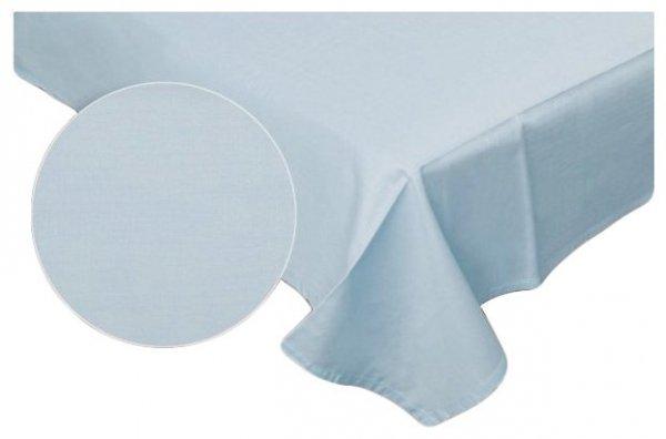 Prześcieradło RUBIN 100% bawełna 220x200 bez gumki wz. jasny niebieski 05