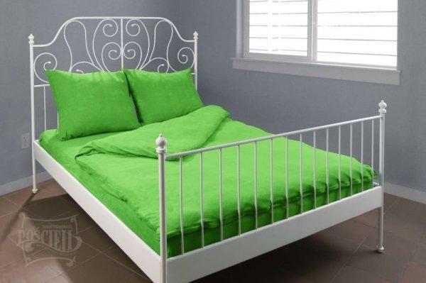 Pościel Frotte wz. 21 zielony rozmiar 140x200