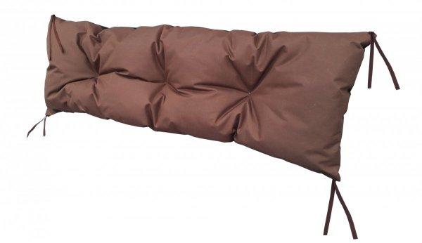 Poduszka na huśtawkę ławkę 120x40 wz. Brązowy