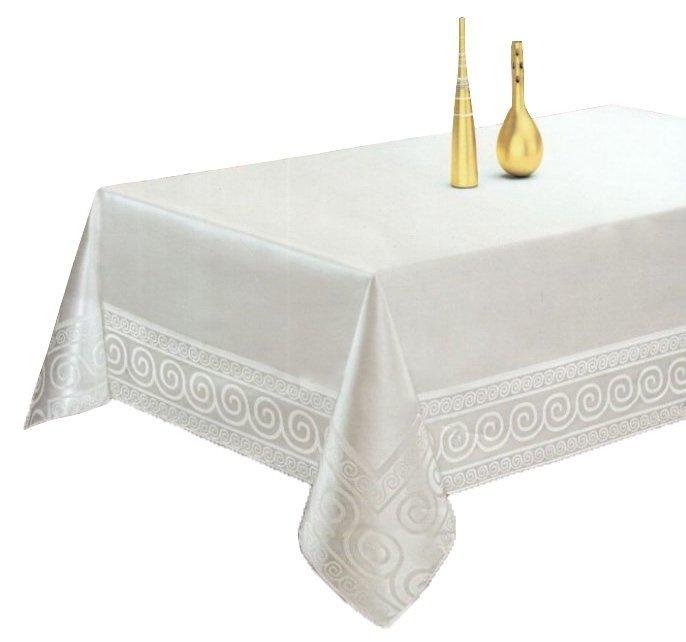 Obrus teflonowy Bianco rozmiar 140x180 wzór biały (252)