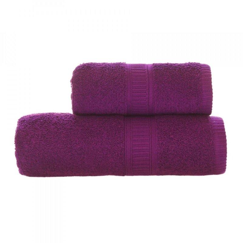 Ręcznik CHARLIE rozmiar 70x140 wz. fioletowy