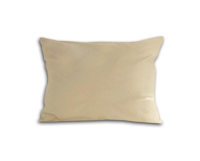 Poszewka na poduszkę 70x80 - 100% bawełna satynowa DARYMEX, zapięcie na zamek wz. kremowy