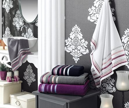 Ręcznik BIANNA 50x90 kolor szary