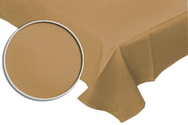 Prześcieradło RUBIN 100% bawełna 160x220 bez gumki wz. beżowy
