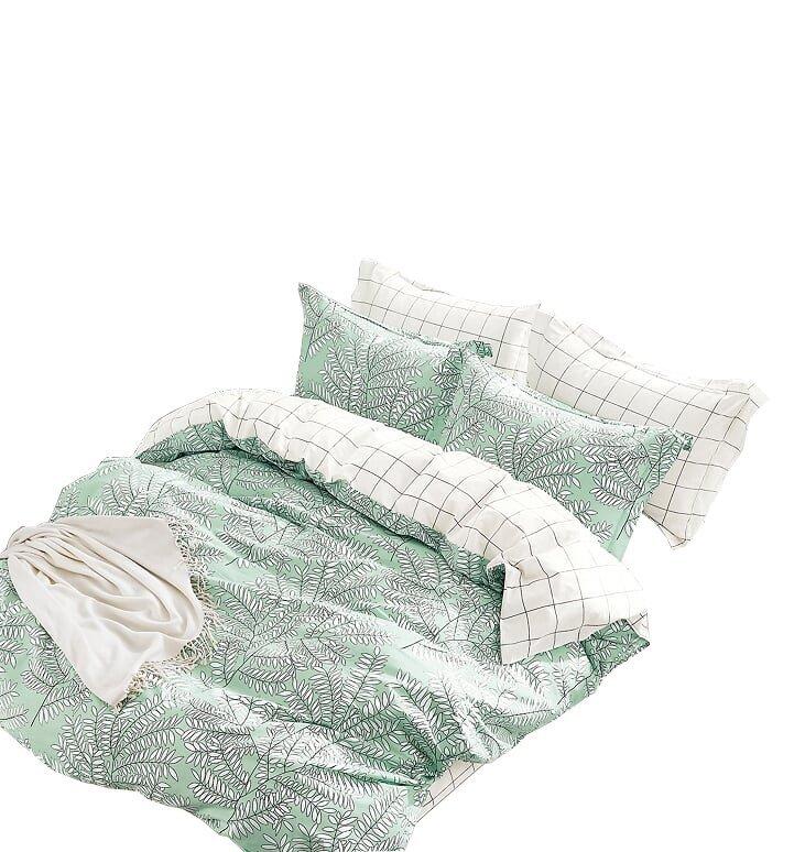Pościel bawełna satynowa dwustronna Lasher 220x200, 200x200 lub 180x200 - wz. ALBS-0928B