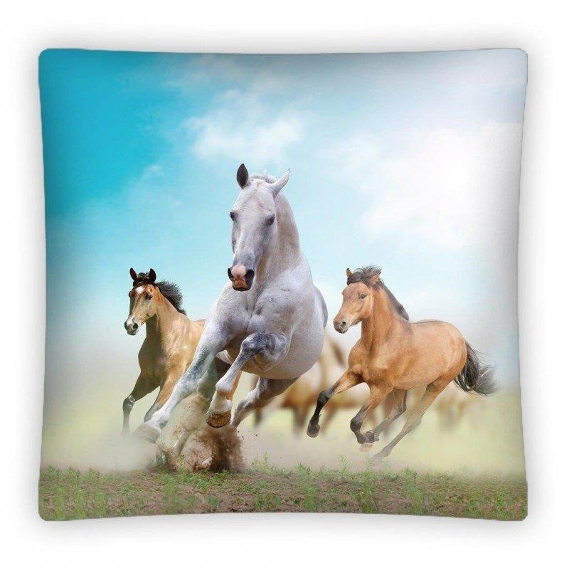 Foto poszewki 40x40 Konie wz. PS 0011