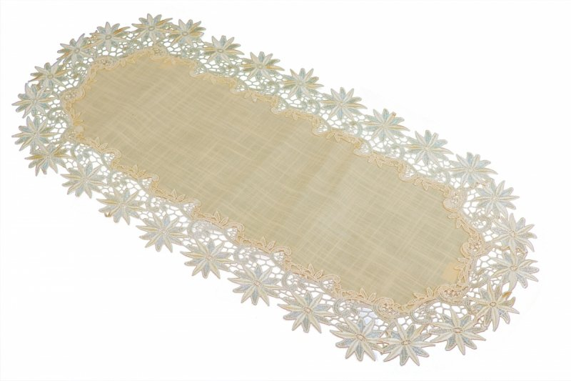 Obrus 40x90 wz. 606 Kolor: Łosoś