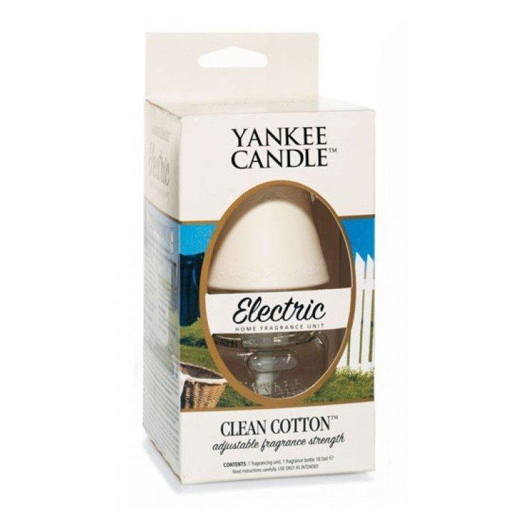 Zapach elektryczny z bazą Yankee Candle Electric - Clean Cotton