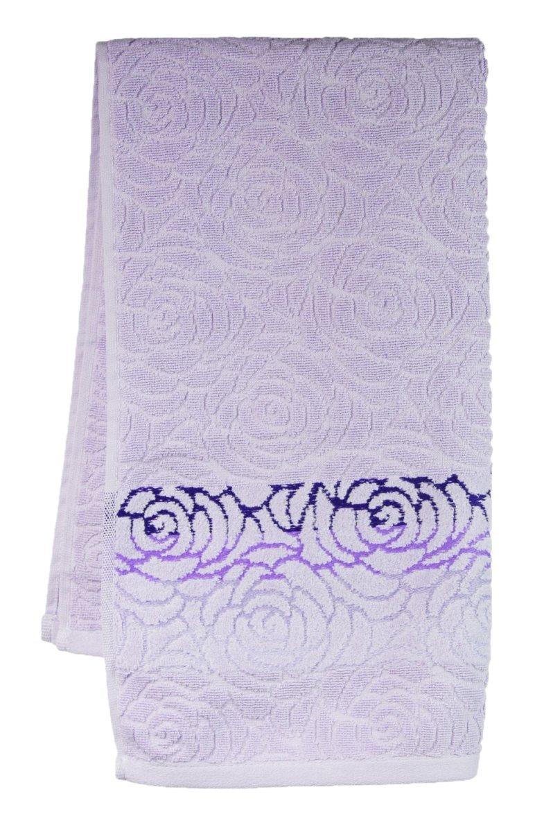 Ręczniki ROSSO - rozmiar 50x90 wz. wrzosowy