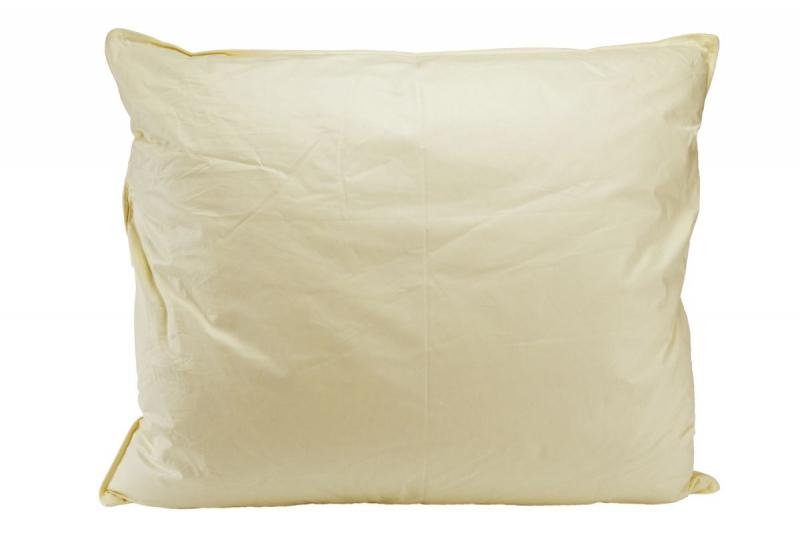 Poduszka puchowa 70x80 wz. kremowy