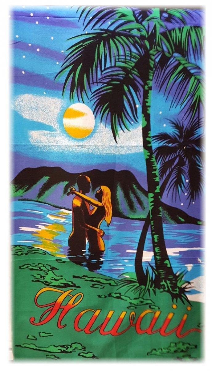 """Ręcznik plażowy """"Hawaii""""  - rozmiar 70x148"""