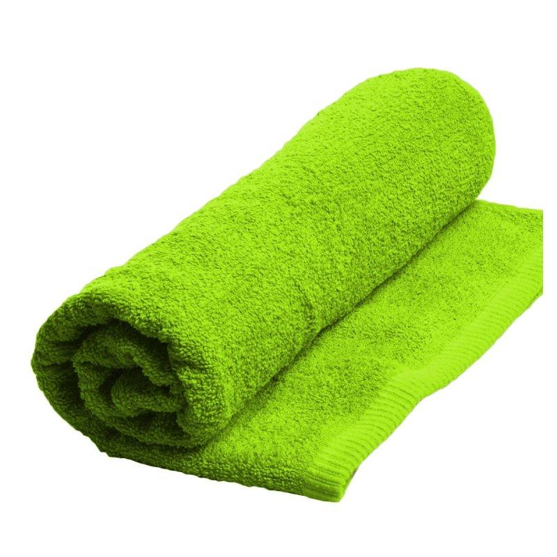Ręczniki, ręcznik jednobarwny MODENA  rozmiar 50x100 wz. limonka
