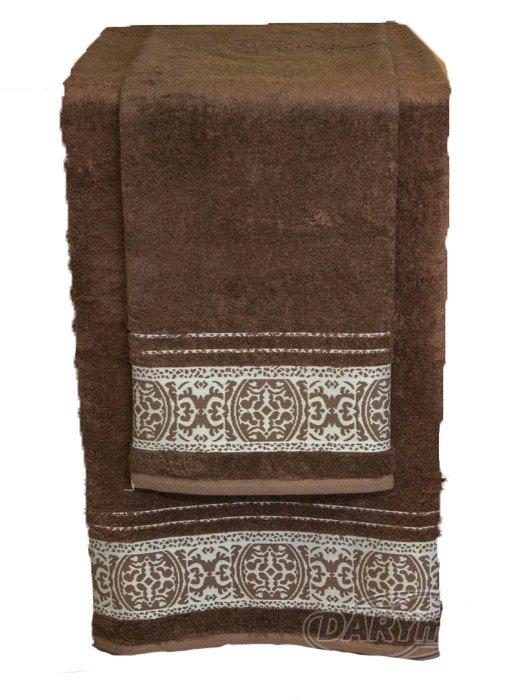 Ręcznik Bambusowy ORIENT rozmiar 50x90 - Czekolada