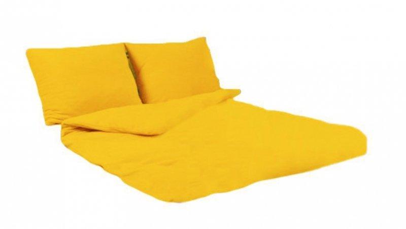 Pościel POLAROWA 180x200 , super miękki polar wz. żółty