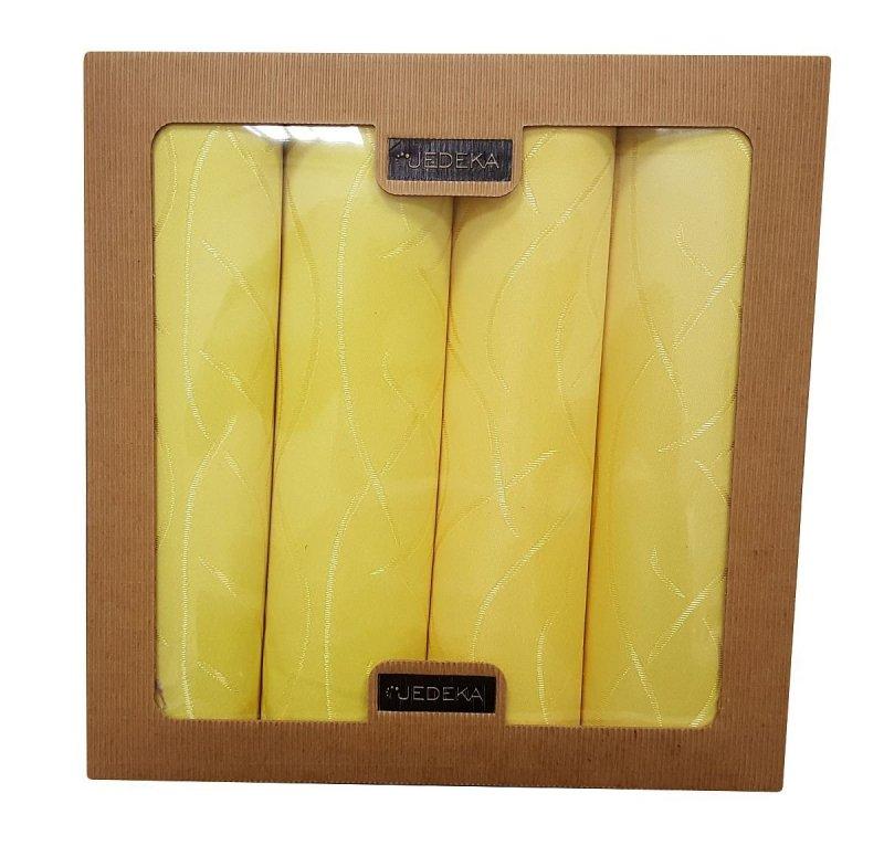 Komplet obiadówek Jedeka 33x47 Kolor: Żółty