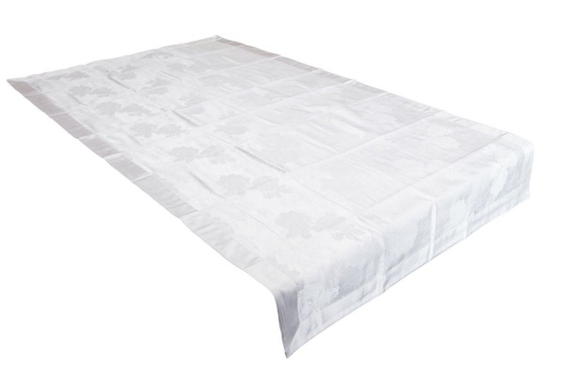 Obrus teflonowy rozmiar 90x160 wzór biały (239)