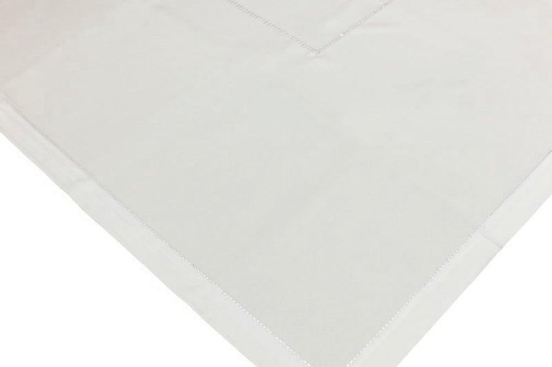 Obrus z mereżką rozmiar 60x120 wzór ecru (200)